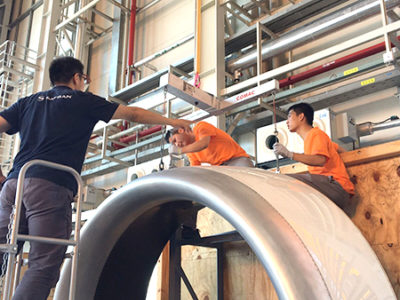 Xian SAVI Nacelles' integration activities in Shanghai for Nexcelle