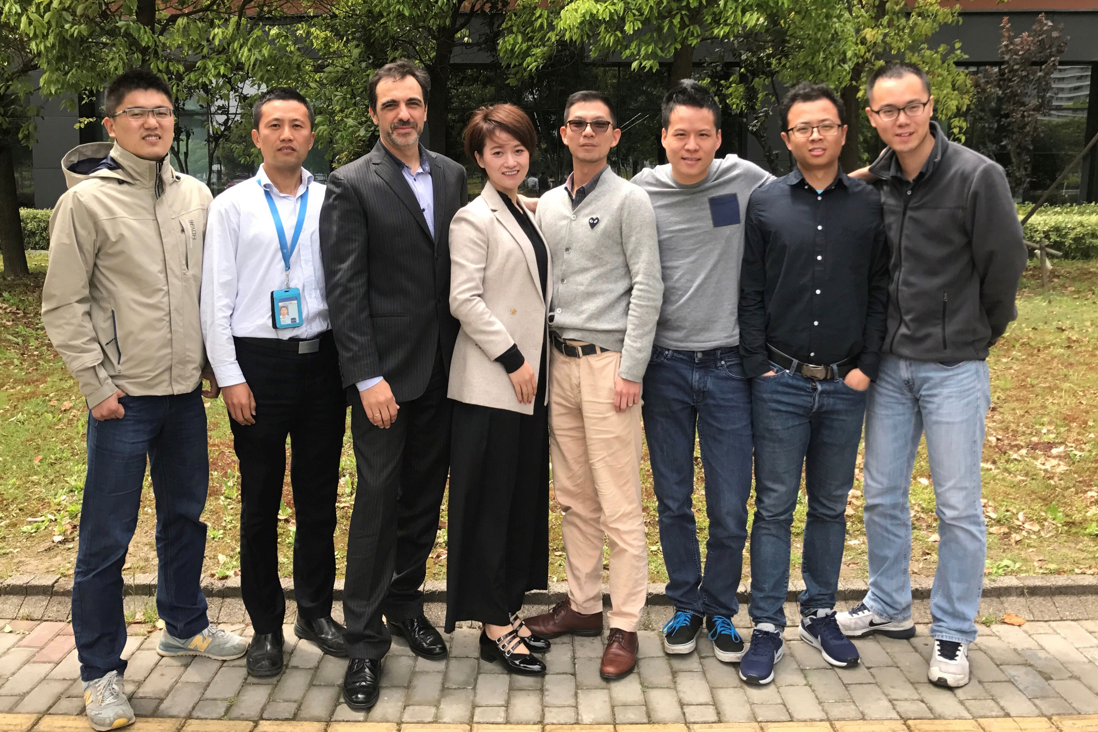 Nexcelle's nacelle team in Shanghai, China